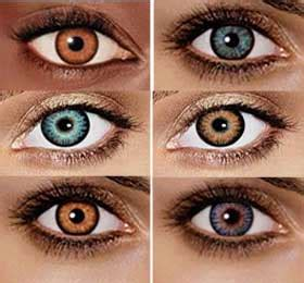 dangers of colored contact lenses and special effect