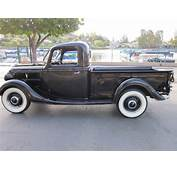 1937 Ford Pickup All Original W/Flathead V8 In Excellent