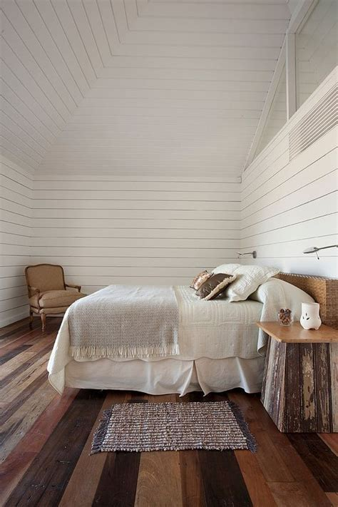 white walls in bedroom rustic bedroom with white wood walls homedesignboard