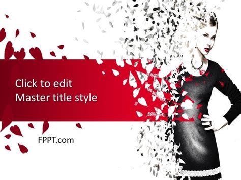 Free Fashion Powerpoint Template Free Powerpoint Templates Fashion Slides Template