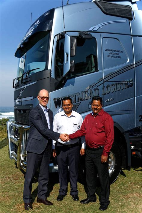 volvo trucks south africa volvo trucks sa delivers first units of new range fleetwatch