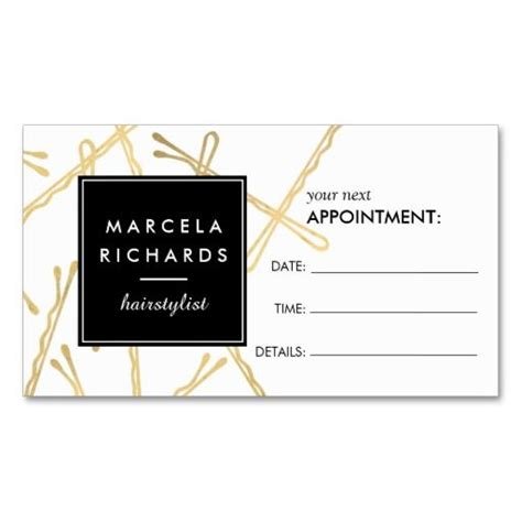 Hair Salon Appointment Card Template by Best 25 Hairstylist Business Cards Ideas On
