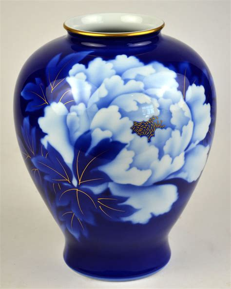 fukagawa china vase porcelain imperial of japan