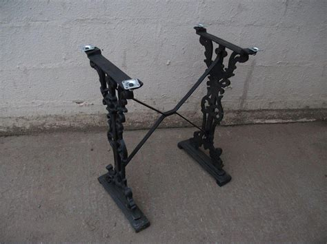 cast iron table bases for sale secondhand chairs and tables table bases 12x cast iron
