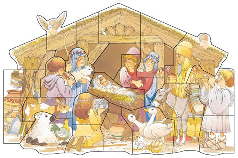 lds printable nativity scene a year of fhe 15 awesome christmas activities from the