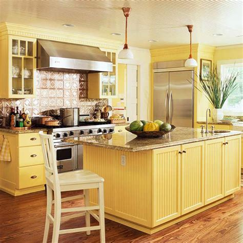 yellow kitchen color schemes modern furniture traditional kitchen design ideas 2011