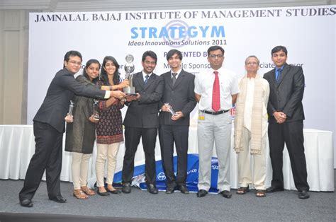 Jbims Part Time Mba Placements by Strategym 2011 Jbims Students Present 7 Papers On