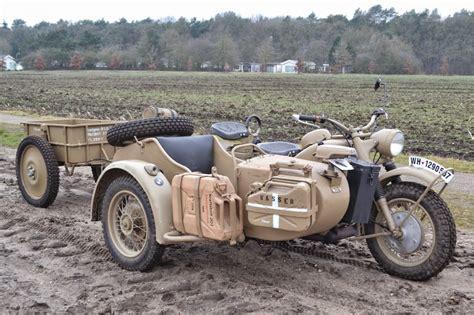 Bmw Motorrad R75 by 1943 Bmw Motorcycles Sidecar Combo Bmw R75 R75 Ww2