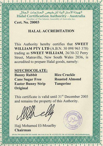 halal certification letter halal certificate europe fulfillment