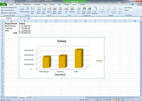 chart layout excel 2010 comma training page 119