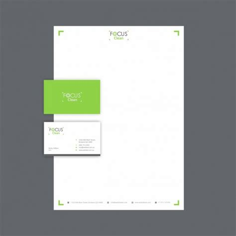 Business Letterhead Vector Free Photography Business Card And Letterhead Vector Free