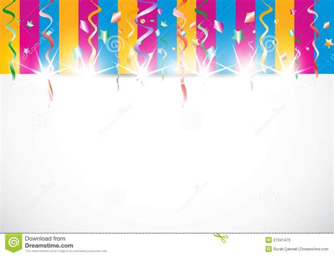 abstract colorful shiny birthday background stock  image