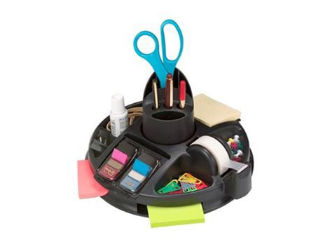 utensilios de escritorio organizador de escritorio rotary 3m 174 onpromotion