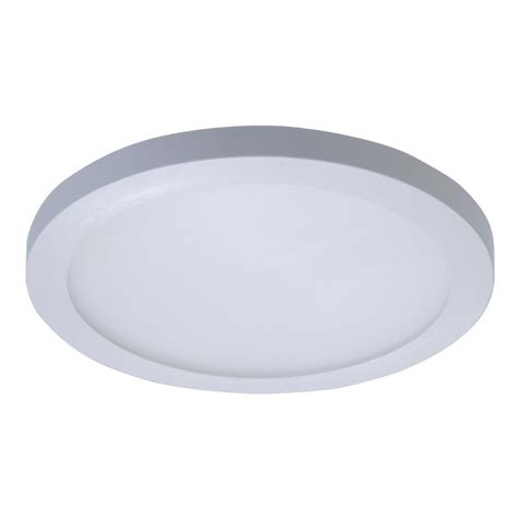 Halo Light Fixtures Halo Smd 5 In And 6 In White Integrated Led Recessed Surface Mount Ceiling Light Fixture