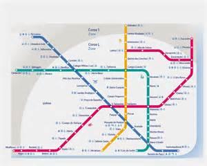 Lisbon Subway Map by Lisbon Metro Map