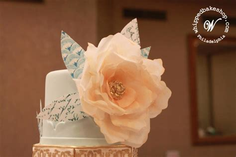 How To Make Rice Paper Flowers - let them eat cake 2014 weddings