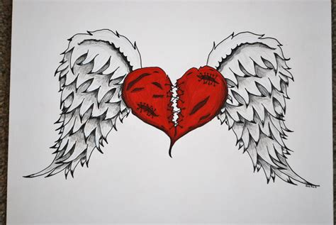 broken heart tattoo designs quot broken quot commission by foxkat on deviantart