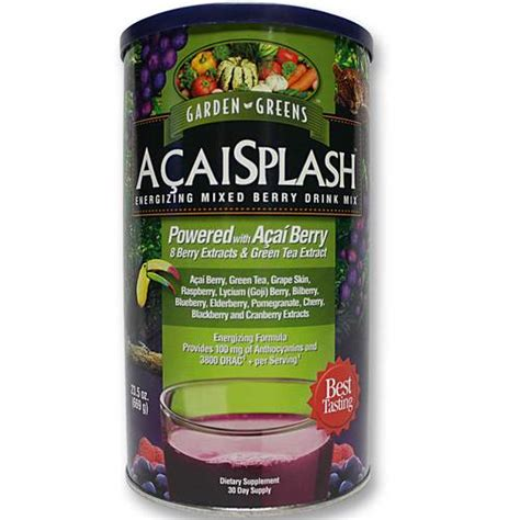 Garden Greens Acai Berry Detox Reviews by Garden Greens Berrysplash Acai Powder 669 Grams