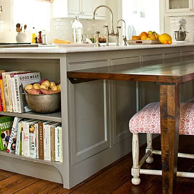 kitchen island table extension dream kitchens favorite feature the updated traditional kitchen gray
