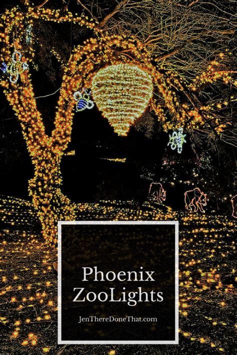 pheonix zoo lights zoo lights