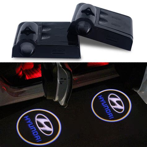 Door Lights For Car by Led Door Warning Light 2pcs 9th Wireless Car Logo Door