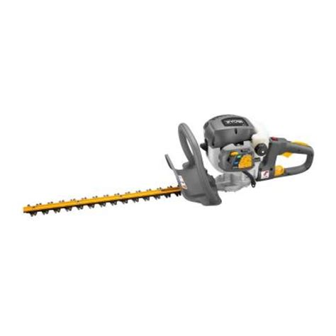 ryobi 22 in 26 cc gas hedge trimmer ry39505b the home depot