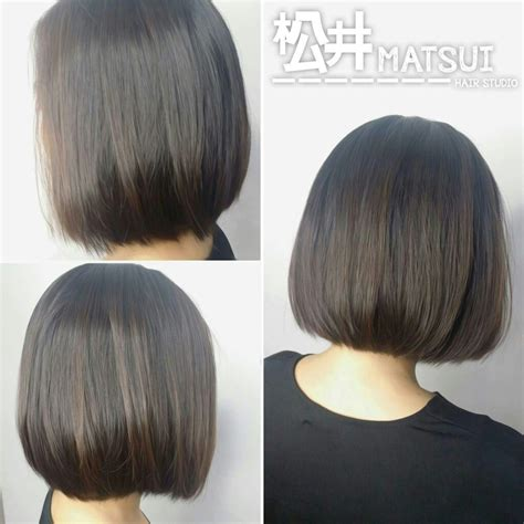 volume rebonding volume rebonding 1 neat bob hairstyle hair done by