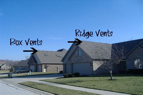 Hip Roof Ventilation Ridge Vents Vs Box Vents Commercial Roofing Dallas