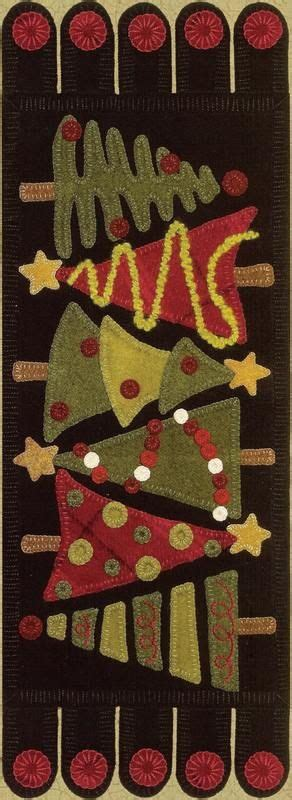 wool christmas tree pattern tannenbaum wool applique pattern love these trees