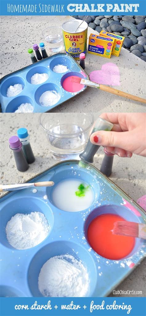 diy sidewalk chalk paint recipe 18 best the peace pandas 2015 auction is