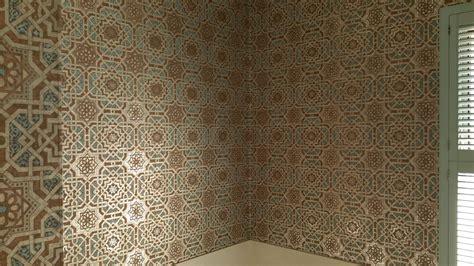 tapete marokkanisch moroccan style wallpaper