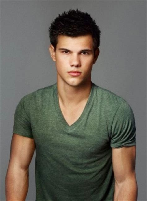 Taylor Lautner Haircut Instructions | how to style spiky hair tips haircut and products men