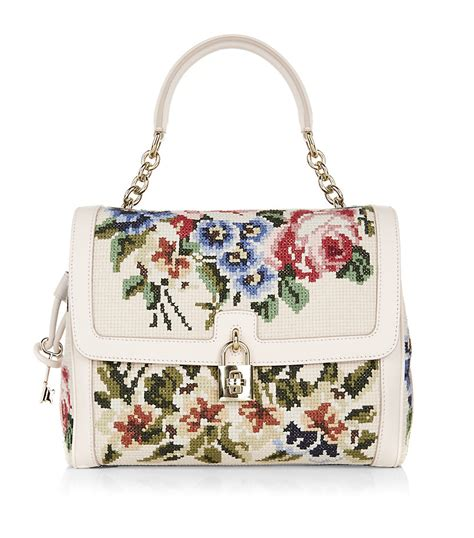 Dolce And Gabbana Floral Purse by Dolce Gabbana Dolce Floral Tapestry Handbag Lyst