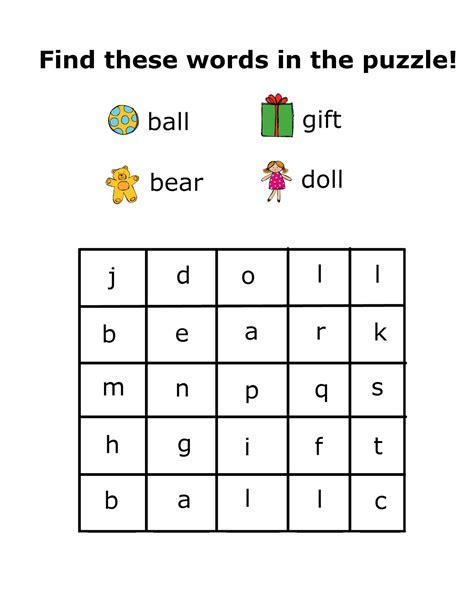 christmas wordsearch for kindergarten printable christmas preschool packet 3 day freebie preschool