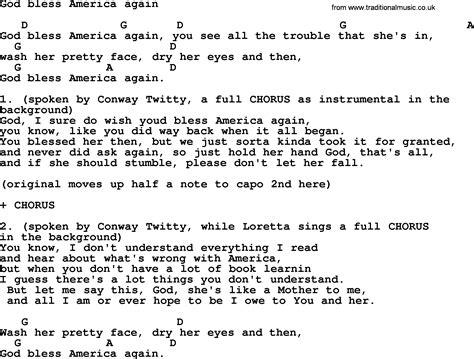 printable lyrics to god s not dead download loretta lynn the third man