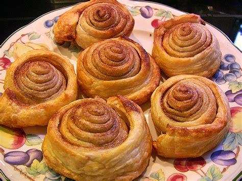 rabarbara kuchen zimtschnecken aus bl 228 tterteig rezept mit bild mel