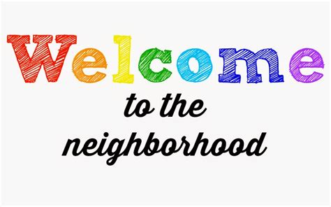 Welcome To The Neighborhood Card Template by Munchkins And The New Neighbors