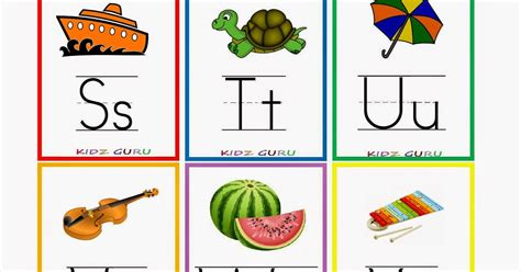 printable alphabet cards no pictures kindergarten worksheets printable worksheets alphabet