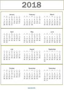 Free Printable 2018 Calendar With Holidays Awesome 2018 2018 Calendar Printable One Page 2017