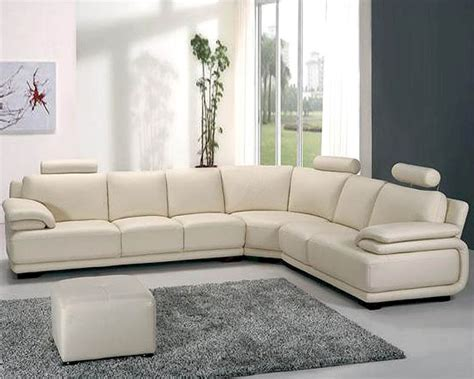 white leather sofa sectional off white leather sectional sofa set 44la31