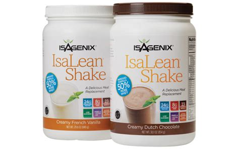 Detox Meal Replacement Shakes by Isagenix Vs Visalus Cleanse Nutrition