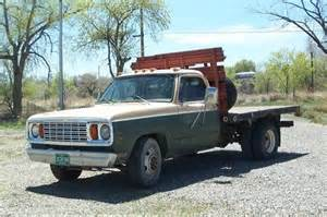 sell used 1978 dodge d300 1 ton flatbed adventurer 360 4