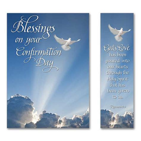 confirmation greeting card template blessings on your confirmation day confirmation card