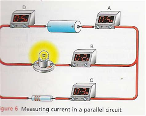 measuring current in parallel resistors exploring series and parallel circuits