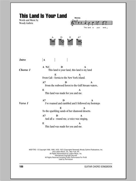 printable lyrics this land is your land peter paul mary this land is your land lyrics