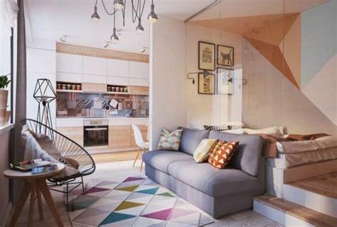 apartment mit 1 schlafzimmer dekorieren ideen fachgerecht deko ein zimmer wohnung einbildungskraft 13