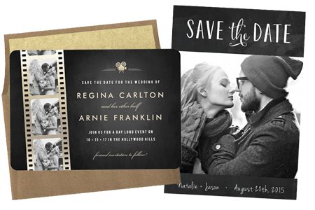 email online wedding save the dates that wow