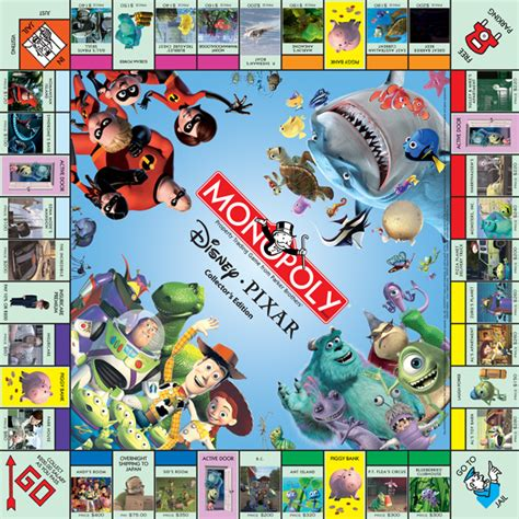 Monopoly Disney monopoly board photo