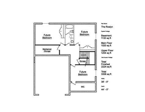floor plan sles the roslyn patterson homes