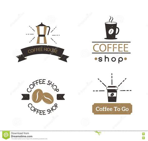coffee shop sign design coffee shop sign cafe symbol badge vector stock vector